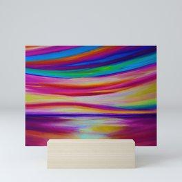 RAINBOW REFLECTIONS Mini Art Print