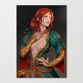 The Witcher - Triss Merigold Canvas Print
