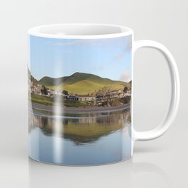 Ocean Water Reflection in Cayucos, California Coffee Mug