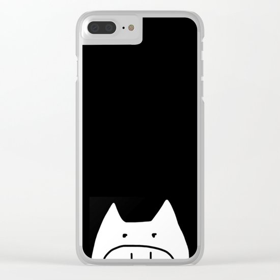 pig-3 Clear iPhone Case