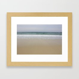 Beach Lewis and Harris Framed Art Print