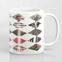 diamonds Mugs featuring DIAMONDS by Brandon Neher