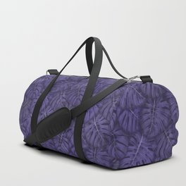 ULTRA VIOLET MONSTERA, by Frank-Joseph Duffle Bag