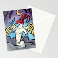 Baphomet Stationery Cards