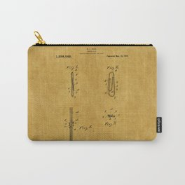 Paper Clip Patent 1 Carry-All Pouch
