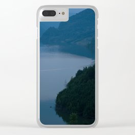 LAKE EDGE Clear iPhone Case