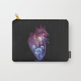 Heart Planets Carry-All Pouch