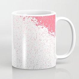 Gray and Pink Coffee Mug