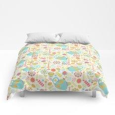 Green Tea Pattern Comforters