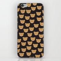 moschino iPhone & iPod Skins featuring teddy bear pattern by Marta Olga Klara