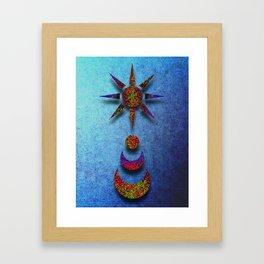Celestial Singularity Framed Art Print
