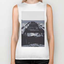 A mythical way to the sea Biker Tank