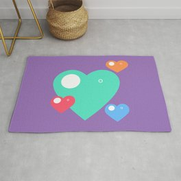 Happy Hsiao Hearts Rug
