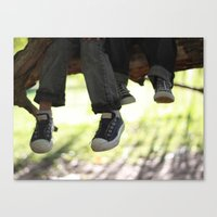 converse Canvas Prints featuring Converse by joonitree photography