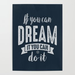 You Can do It - Motivation Poster