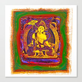 Thanka (4) Canvas Print