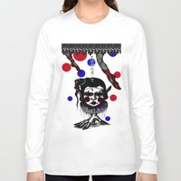clown Long Sleeve T-shirts featuring CLOWN by AKIKO