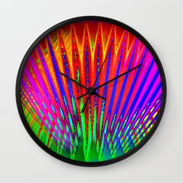 Feathers by light ... Wall Clock