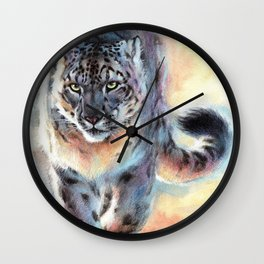Snow Leopard - Out of Nowhere Wall Clock