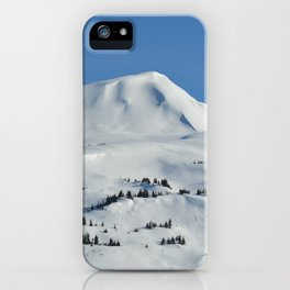 Back-Country Skiing  - VI iPhone Case