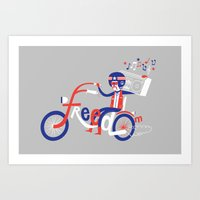 freedom Art Prints featuring Freedom by Wharton