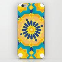sacred geometry iPhone & iPod Skins featuring Sacred Geometry by Tashi Delek