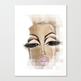 Digital Marilyn Canvas Print