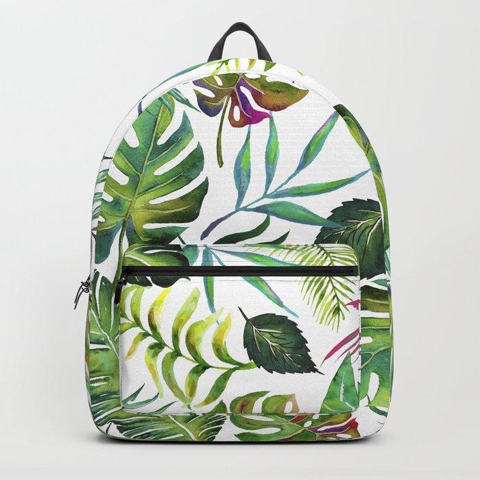 Tropical Flora #society6 #decor #buyart Backpack