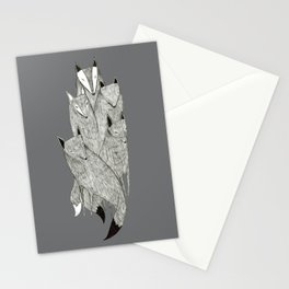 Foxes & Badgers Stationery Cards
