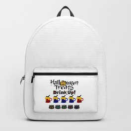 Halloween Special Beer Delivery Treats Backpack