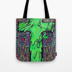 Slime X Cross Tote Bag