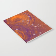 Birth of worlds in a fiery sky Notebook