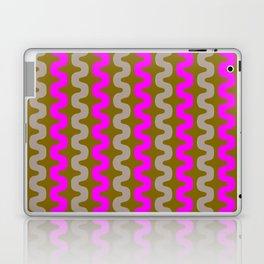 pink and grey gold pattern Laptop & iPad Skin