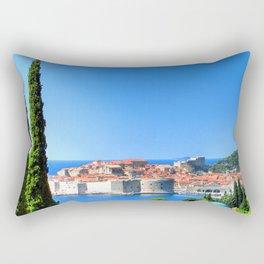 Croatia Treescape Rectangular Pillow