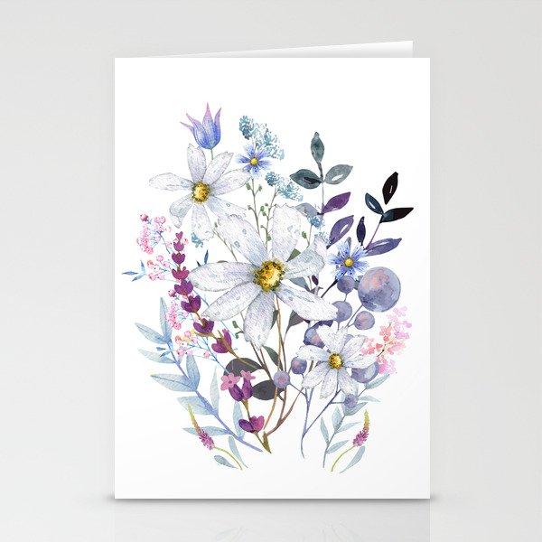 Wildflowers V Stationery Cards