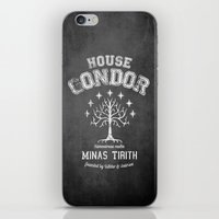 gondor iPhone & iPod Skins featuring House Gondor by Nxolab