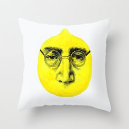 John Lemon Throw Pillow
