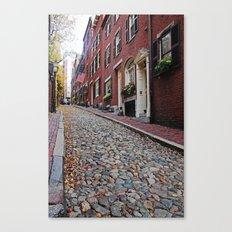Acorn street views Canvas Print