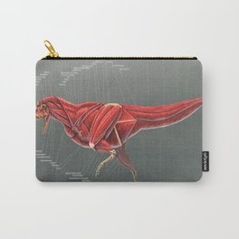 Carnotaurus Muscle Study Carry-All Pouch