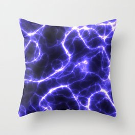 Electricity Throw Pillow
