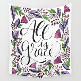 All is Grace Wall Tapestry