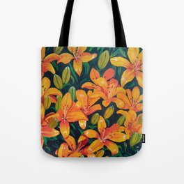 Daylilies in the Garden Tote Bag