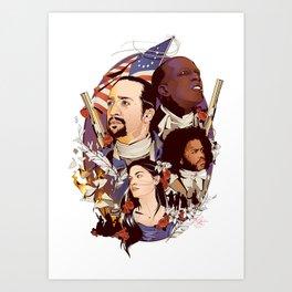 Hamilton Art Print