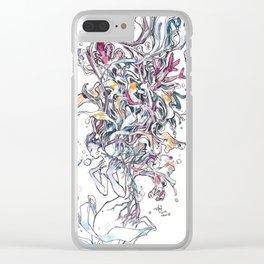 Burdens Clear iPhone Case