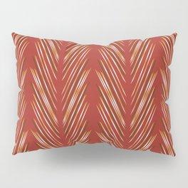Wheat Grass Terra Cota Pillow Sham