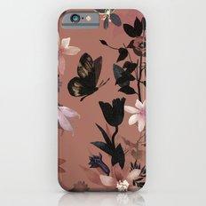 Autumn flowers in the garden iPhone 6s Slim Case