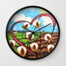 Heart Delta Wall Clock