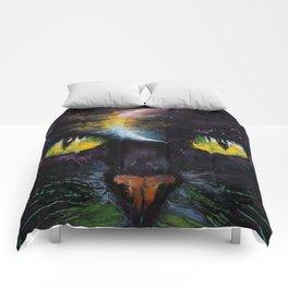 Moon Cat Comforters