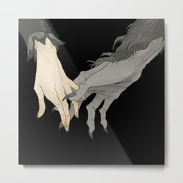Monster Lover II Metal Print