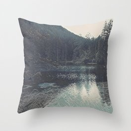 Lake I Throw Pillow